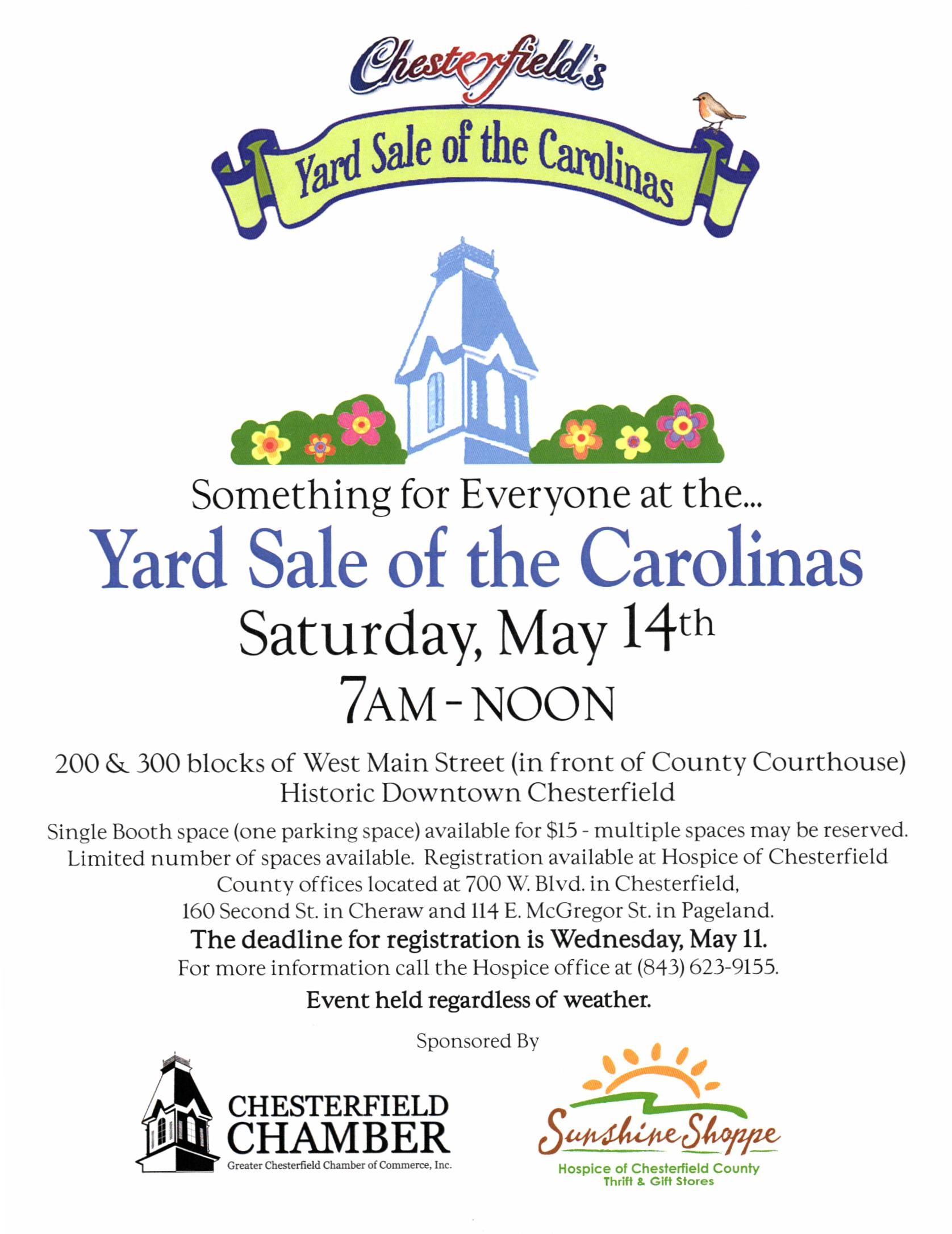 Yard Sale of the Carolinas