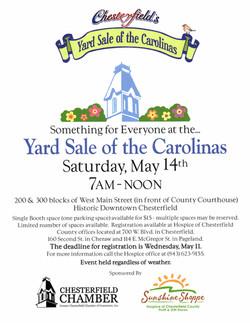 Yard Sale of the Carolinas