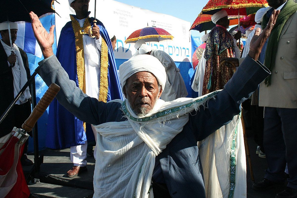 the Ethiopian Jewish holiday of sigd, reminiscent of Shavuot