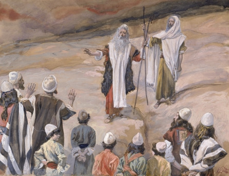 Moses Forbids the People to Follow Him, c. 1896-1902, by James Jacques Joseph Tissot (French, 1836-1902)