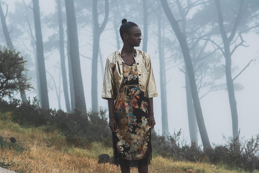 Vintage fashion editorial Cape Town