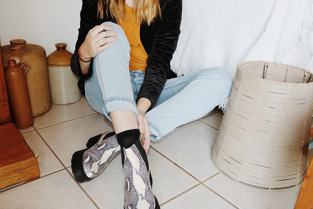 Fashion shoot shoes
