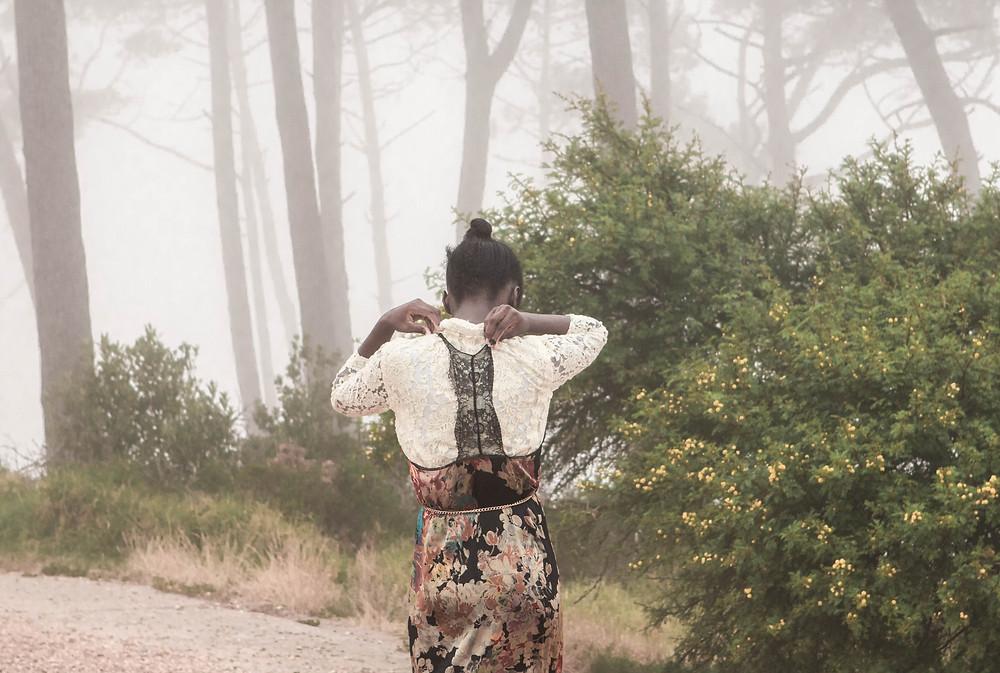 Vintage fashion shoot