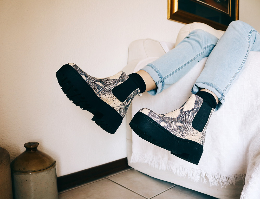 Fashion editorial hipster shoes