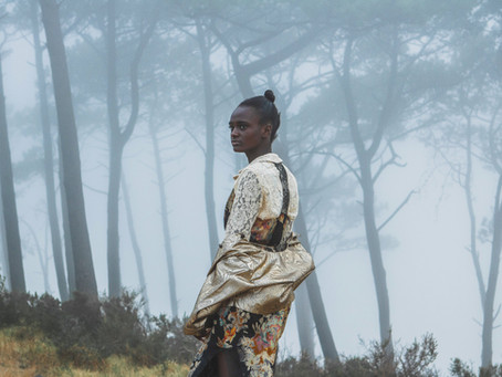 Moody Cape Town Vintage Fashion Editorial
