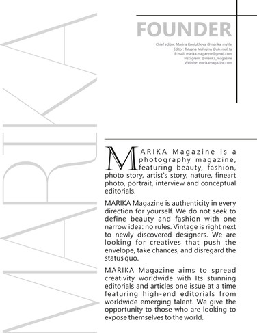MARIKA MAGAZINE ISSUE 118 - PORTRAIT-2 -