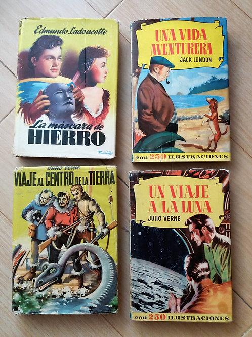 Lote libros juveniles años 50