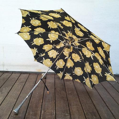Paraguas mango metálico