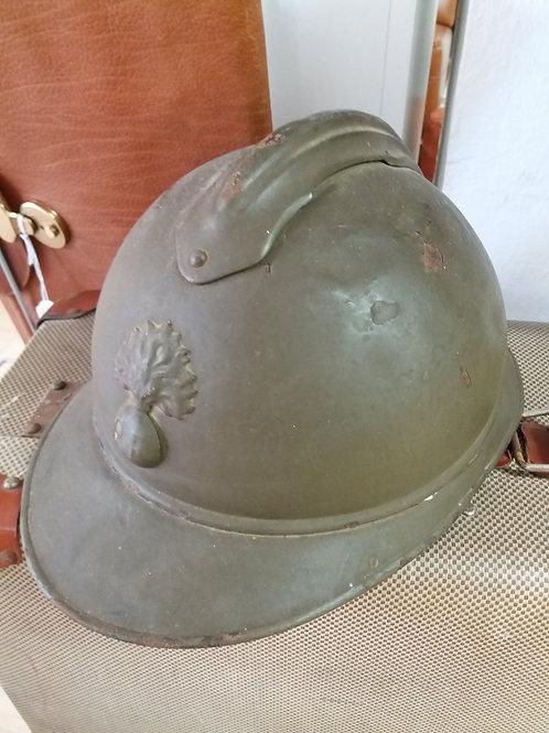 Casco de la 1ª guerra mundial