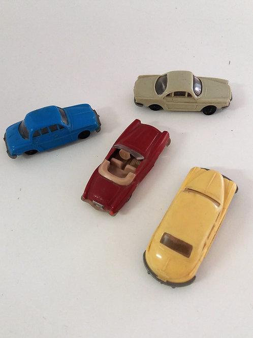 Coches miniatura antiguos
