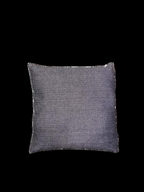 Black Herringbone Cushion