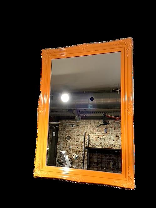 Victorian Mirror - Orange