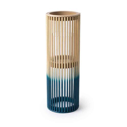 Krabi Lantern - Blue and Natural