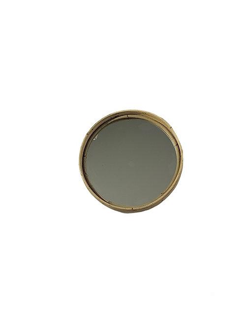 Rattan Mirror - Round - Small