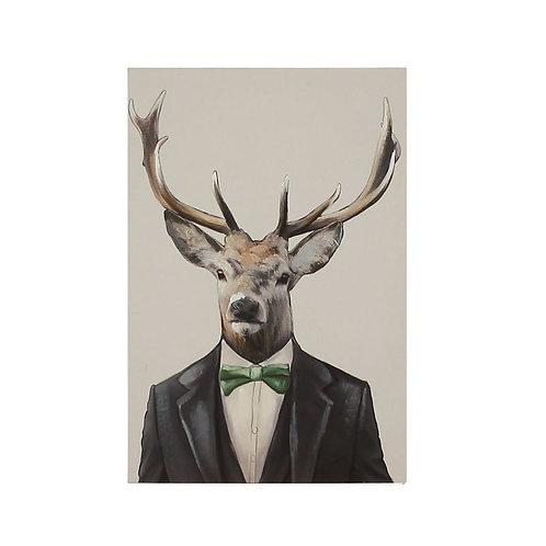 Elegant Deer Canvas