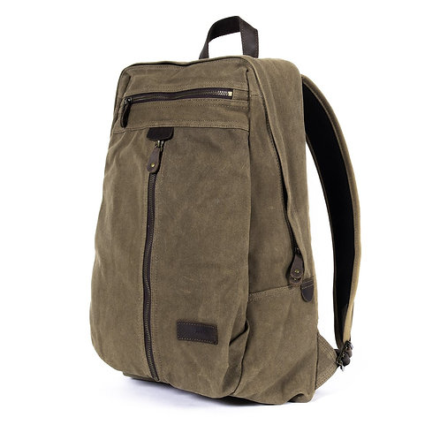 Denali Backpack - Waxed Canvas - Camel