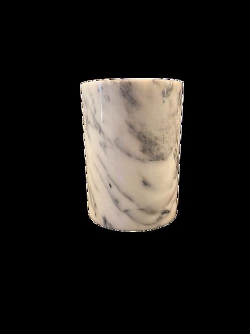 Marble Wine Server - White