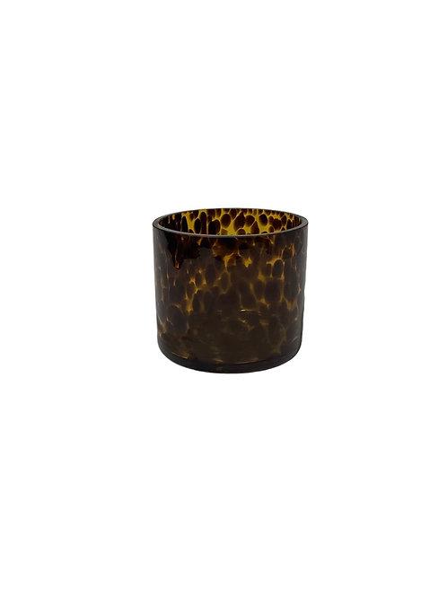 Tiger Glass Cylinder - 15 x 15 cm