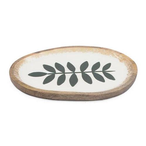 Olive Branch Serving Trey - Mango Wood - Small