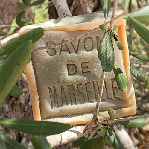 Marseille Olive Oil Soap - Extra Pure 72% - 300 Grams