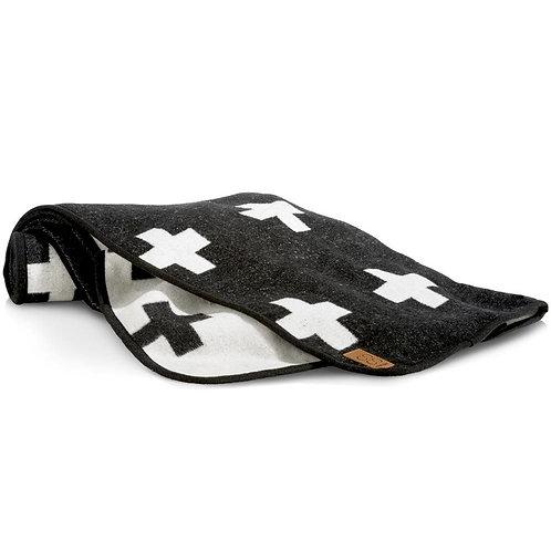 Plaid Cross Blanket