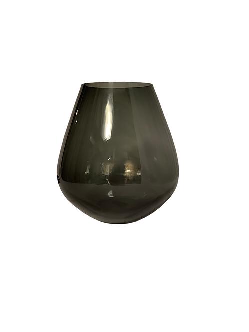 Pear Vase Noir - Large