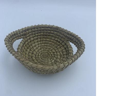 Kaisha Grass & Jute Basket - Fair Trade - Natural