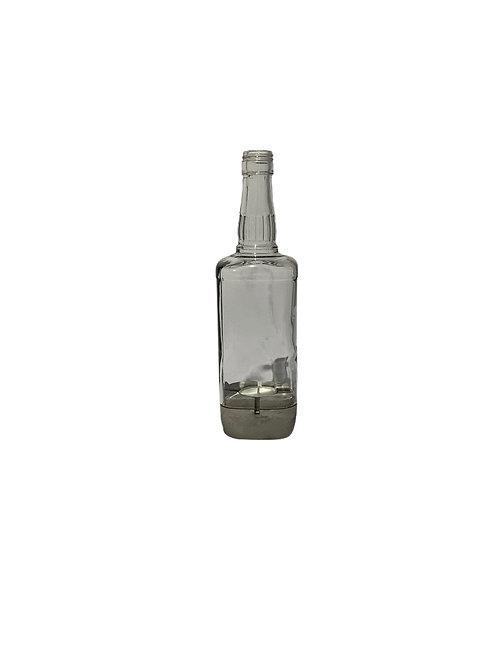 Whisky Bottle Tealight Holder