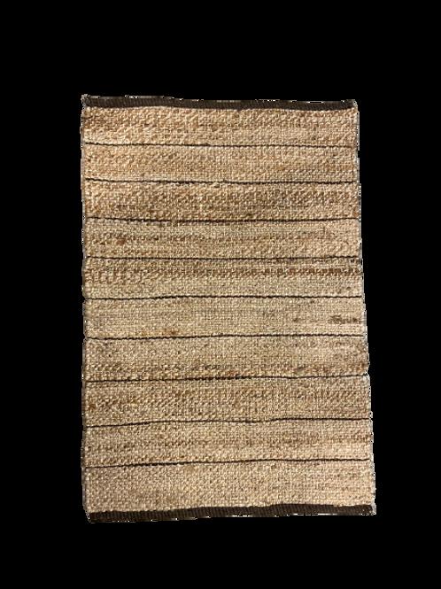 Striped Carpet - Jute