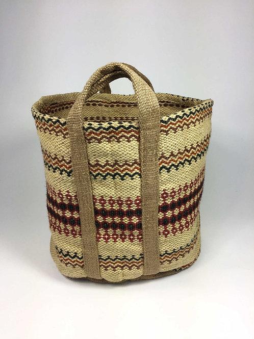 Jute Bag Red (Large)