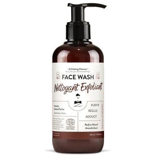 Natural Face Cleanser for Men