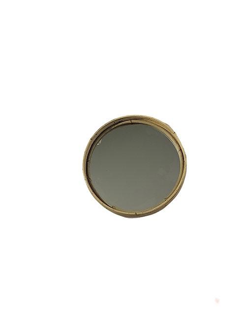 Rattan Mirror - Round - Medium
