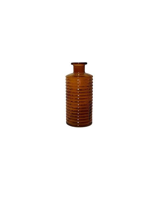 Sue Glass Vase - Bronze - Small