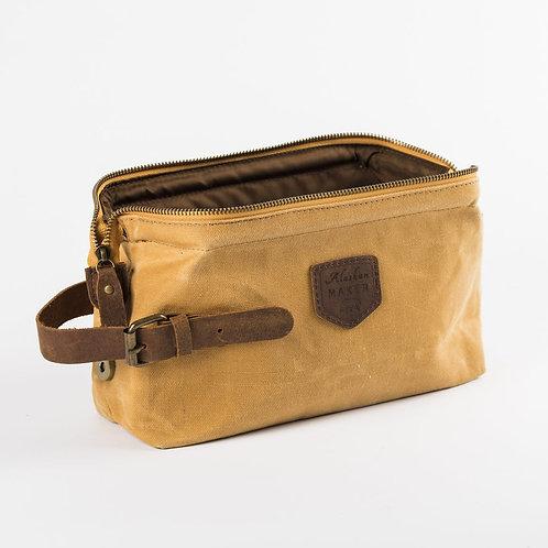 Travel Kit - Waxed Canvas - Mustard