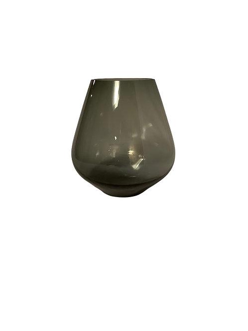 Pear Vase Noir - Medium