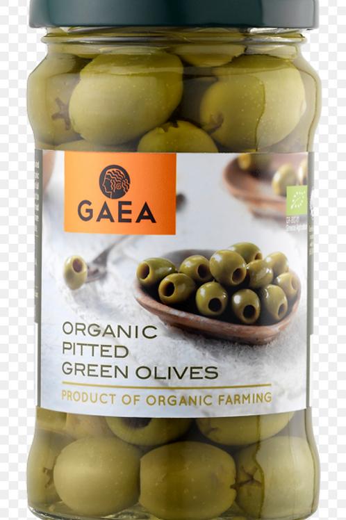 Gaea - Bio Olijven Groen Zonder Pit