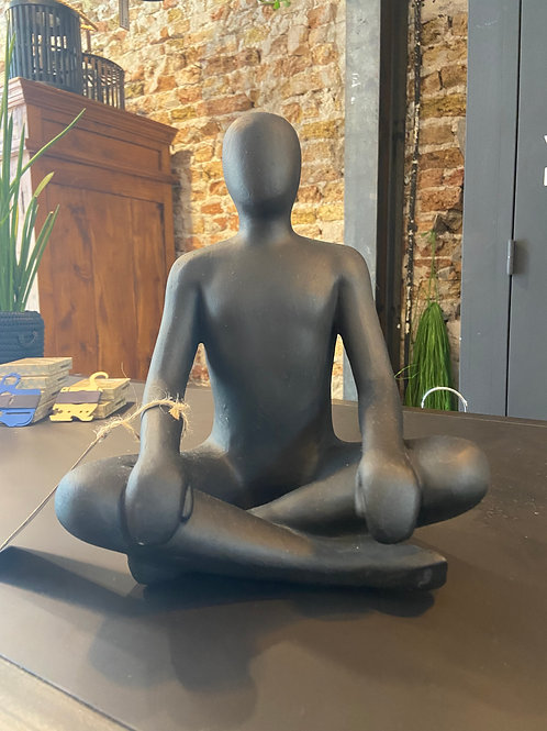 Sandstone Man Sitting