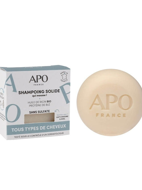 Shampoo Solid for All Hair Types