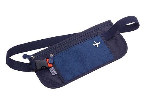 Travel Belt Bag - Blue