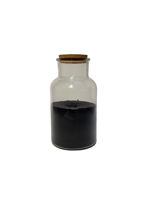 Jar Candle Lisse BK