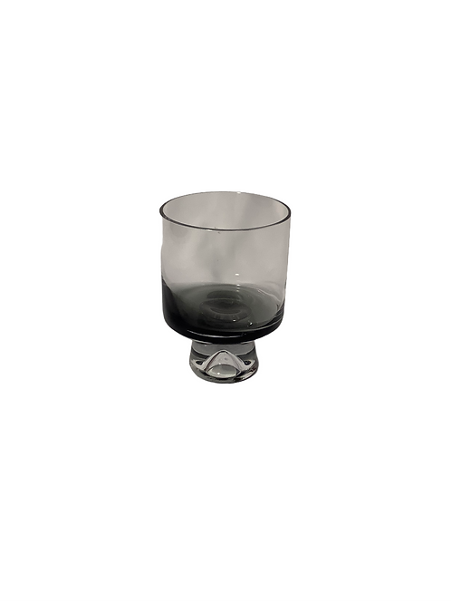 Gray Glass with Leg