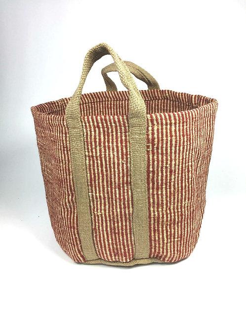 Jute Bag Red (Small)