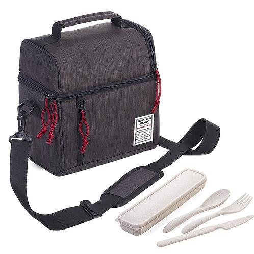 Insulated Lunch Bag - Dark Gray