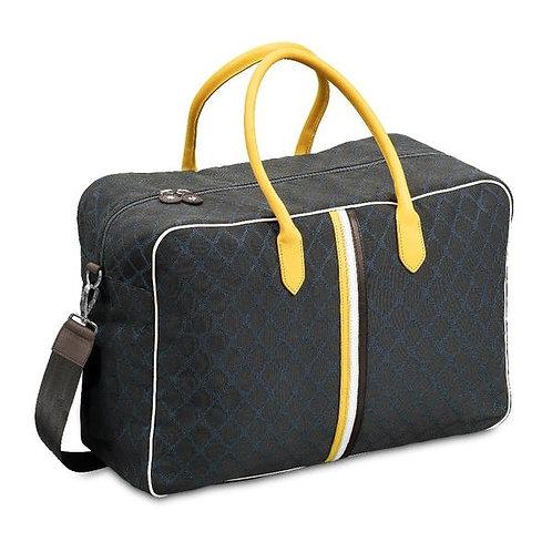 Giovana Yellow Blue Brown Weekend Bag