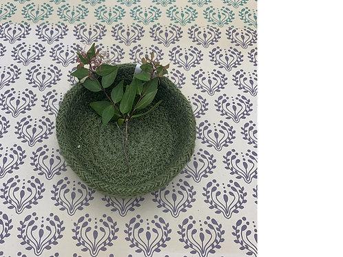 Jute Plate - Fair Trade - Green