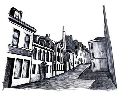 MOMENTS - EDINBURGH STREET