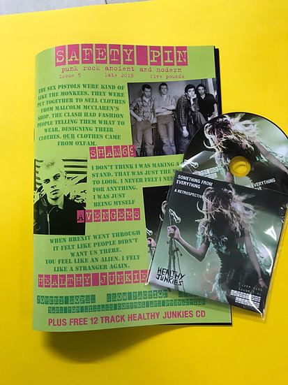 Safety Pin Issue 5 + Healthy Junkies CD