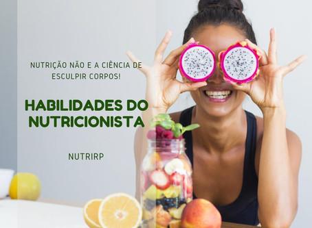 Habilidades do Nutricionista