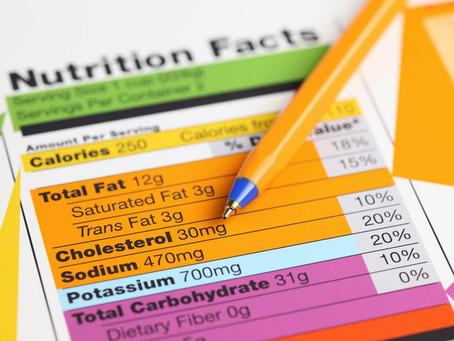 O básico sobre a Tabela Nutricional