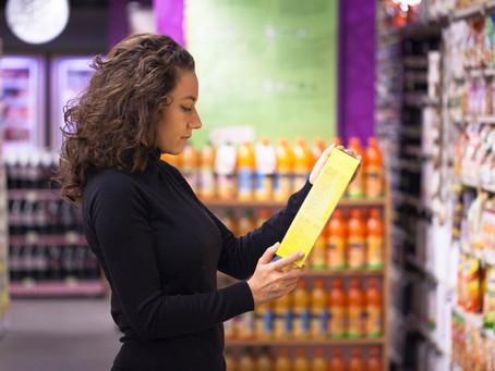 A nova regra de rotulagem nutricional de alimentos